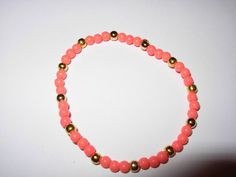 4mm BEADED Stretch BRACELETS  come in different Colors by anafili, $3.00
