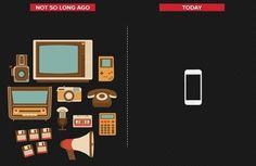L'évolution des tendances technologiques et culturelles en 10 affiches minimalistes