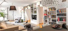 Bookcase, Corner, Shelves, Design, Home Decor, Shelving, Decoration Home, Room Decor