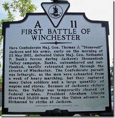 First Battle of Winchester #Civil #War