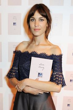 Alexa Chung in Carven - It book launch in London.  (September 2013)