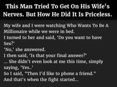 Source: hrtwarming.com {link: http://www.hrtwarming.com/man-tries-to-get-on-wifes-nerves-but-how-he-did-it-is-priceless}