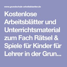 242 best Rätsel images on Pinterest | Aphasia, German language and ...