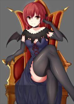 Anime picture 707x1000 with  gabriel dropout kurumizawa satanichia mcdowell xiao long o tall image light erotic girl