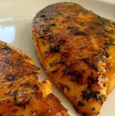 Garlic-Lime Chicken - Pollo especiado para acompañar con verduritas o pasta/arroz...mmm