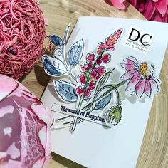 Different Colors Flower Louise Scrapbook Journal, Book Binding, Diy Projects To Try, Filofax, Simply Beautiful, Different Colors, Stampin Up, Colours, Flowers