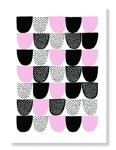 Pattern design by Hanna Konola. Paper Goods, Pattern Design, Notes, Abstract, Artwork, Prints, Color, Summary, Report Cards