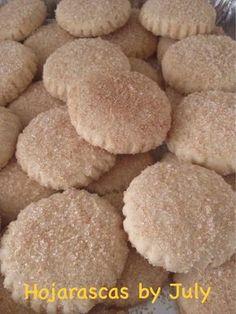 INGREDIENTES: 1 kg de harina 500g de manteca vegetal (yo usé Inca) 1 taza de azúcar 3 huevos 1 cucharada de vainilla 1 cucharadita de polvo de hornear Azúcar con canela ... ...
