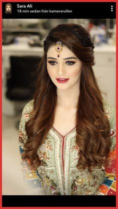 Pakistani Wedding Hairstyles Pictures - Based on your venue agreement, there could be a few limitations with regards to the sort of decor it is possible to generate or alterations you may make to the area. For instance, a museum or historical. Pakistani Wedding Hairstyles, Bridal Hairstyle Indian Wedding, Saree Hairstyles, Bridal Hair Buns, Bridal Hairdo, Simple Wedding Hairstyles, Bride Hairstyles, Indian Hairstyles For Saree, Hairstyles Pictures