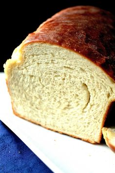 Grandmother Rosebud's Butter Topped White Bread