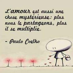 Paulo Coelho amour