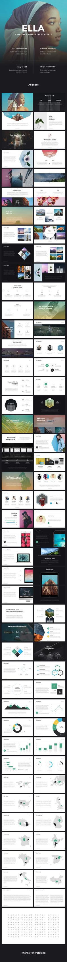 ELLA - Creative PowerPoint Template