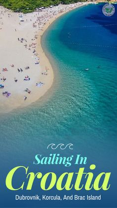Planning a trip to Croatia and looking for inspiration? Check our video about our sailing adventures in Croatia and what we saw in Dubrovnik, Korcula and Brac Island