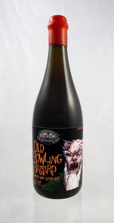Blue Point Brewing's Old Howling Bastard Wax Sealed Magnum © 2003