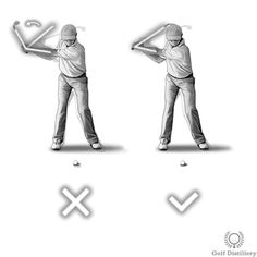 Wrists should not cast (unhinge) early in the downswing