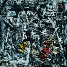 Emilio Vedova - Image of Time no. 2, 1959, Oil on canvas, 119.7 x 120 cm