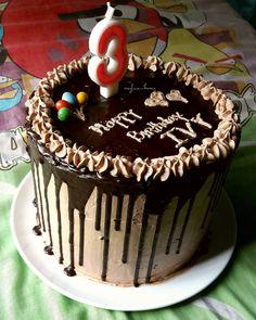 Bolu Cake, Bakery Cakes, Sponge Cake, Black Forest, Dessert Recipes, Desserts, Chocolate Ganache, Beautiful Cakes, Diy And Crafts