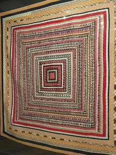 Barrister's Block: More Shelburne Museum quilts - Part III Old Quilts, Antique Quilts, Scrappy Quilts, Vintage Quilts, Quilting Projects, Quilting Designs, Shelburne Museum, History Of Quilting, Medallion Quilt
