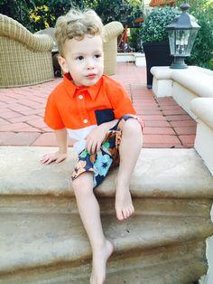 Finn McDermott {tori spelling's youngest}
