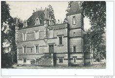 """Langon - 33-LANGON-Une vue du Chateau """"GARROS"""""""