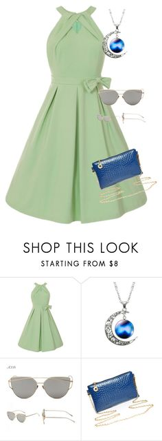 """""""galaxy space necklace"""" by fab-life-939 ❤ liked on Polyvore"""