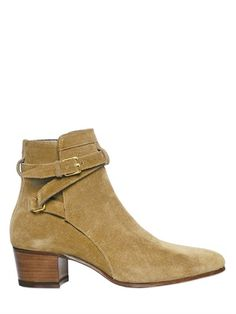 Another must for Fall 40MM BLAKE SUEDE ANKLE BOOTS