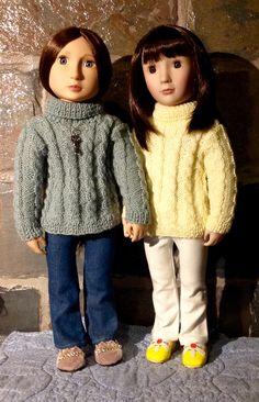 Sasha pattern on AGFAT dolls.