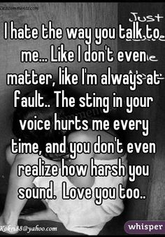 Image result for i don't like the way you talk to me