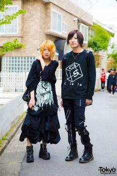 Harajuku Duo in Goth Fashion w/ M:E, El Rodeo, Yosuke, Kagemaru, Goregro, Acolasia, & Lips&Tips