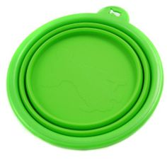 Silicone Pet Dog Expandable/Collapsible/Foldable Travel Bowl - Size: 1.5 Cups,Color: Green - http://www.thepuppy.org/silicone-pet-dog-expandablecollapsiblefoldable-travel-bowl-size-1-5-cupscolor-green/