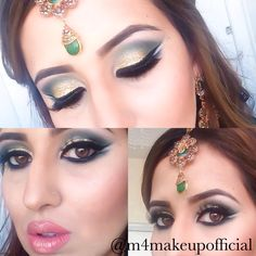 Gold and green  @m4makeupofficial on instagram Septum Ring, Makeup, Earrings, Green, Gold, Instagram, Jewelry, Fashion, Maquillaje