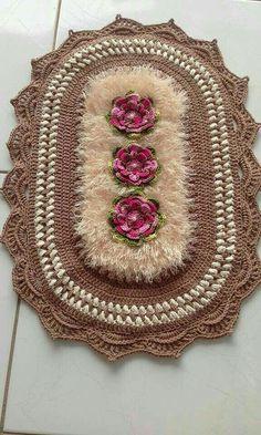 Free Crochet Doily Patterns, Crochet Doilies, Crochet Flowers, Knitting Patterns, Crochet Hammock, Crochet Home, Crochet Projects, Diy And Crafts, Rugs