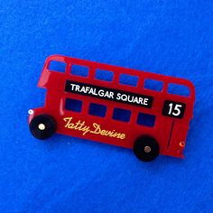 It's the 60th birthday of the Routemaster bus! What a perfect excuse to treat yourself to our London bus inspired jewellery... http://bit.ly/Routemaster #YearoftheBus