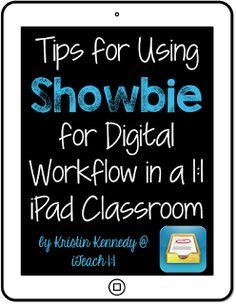 iTeach 1:1: Showbie: A Digital Workflow App for iPads