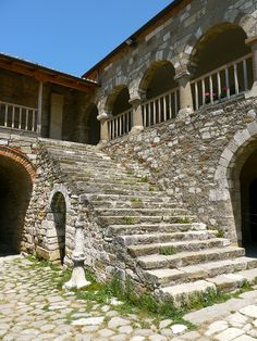 Apollonia, Albania: Monastery of Sainte-Marie