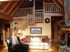 Log Cabins, From Modest to Massive Cottages By The Sea, Cabins And Cottages, Log Cabins, Guest Suite, Master Suite, Pilot Mountain, Covered Porches, Log Houses, Build Something