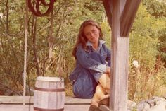 Ricky on a porch in East Hampton in 1975.