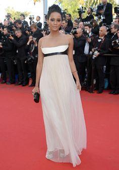 L'actrice brésilienne de telenovelas et égérie L'Oréal Paris, Tais Araujo.
