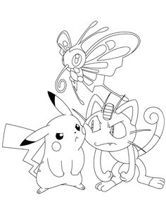 Printable Pokemon Coloring Pages For Your Kids. Pokemon are cute monster characters that are popular among children. Pokemon Coloring Sheets, Pikachu Coloring Page, Free Coloring Sheets, Cute Coloring Pages, Cartoon Coloring Pages, Free Printable Coloring Pages, Coloring Books, Pokemon Snorlax, Pixel Pokemon