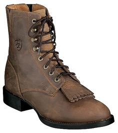 Ariat Lace Up Cowgirl Boots