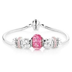 Shop Charms, Charm Bracelets and Fashion Jewellery Online Fashion Jewellery Online, Sterling Silver Charm Bracelet, Rose Gold, Charmed, Engagement Rings, Diamond, Bracelets, Glass