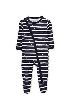 d6d3599b3 Cotton On Baby Mini Zip Through Onesie Twilight BlueStripes Size NEWBRN >>>  Click image for more details.(It is Amazon affiliate link) #comment4comment