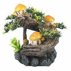 "CLASSIC 2901 MUSHROOM TREE 5"" ORNAMENT FOR BIORB TANKS"