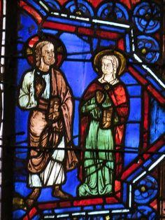 Photos de Vitraux - cathédrale Notre-Dame - Chartres
