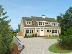 New Waterfront Home on Cape Cod