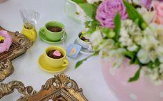 festa infantil com tema 'chá da sofia' no 'fazendo a festa'