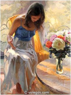 (Russia) Sun Everywhere, 2008 by Vladimir Volegov (1957-   ). Oil on canvas. 92×73cm