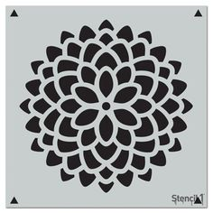 This stencil sheet has an oversized, stylized mum pattern that's ideal for a variety of decorative painting and crafting projects. The laser-cut Mylar stencil has plenty of detail and it's easy to use, easy to keep clean and reusable. Cut Out Canvas, Pies Art, Cut Out Art, Arts And Crafts, Paper Crafts, Diy Paper, Fall Crafts, Diy Crafts, Online Craft Store