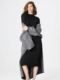#Zara #abrigo #coat punto espiga #moda