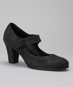 Take a look at this Black Maribel Mary Jane by Antia Shoes on #zulily today! Everyone needs a pair of classic mary janes.